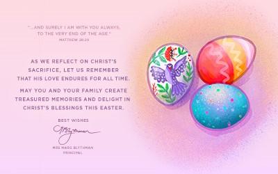Principal's Easter Message